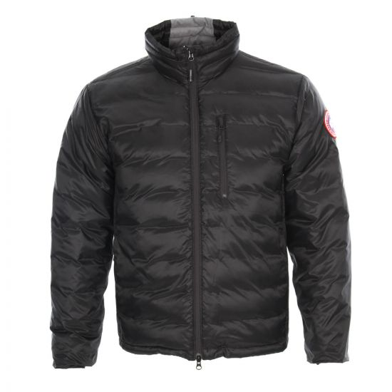Canada Goose Lodge Jacket Black Down Filled 5056M R61