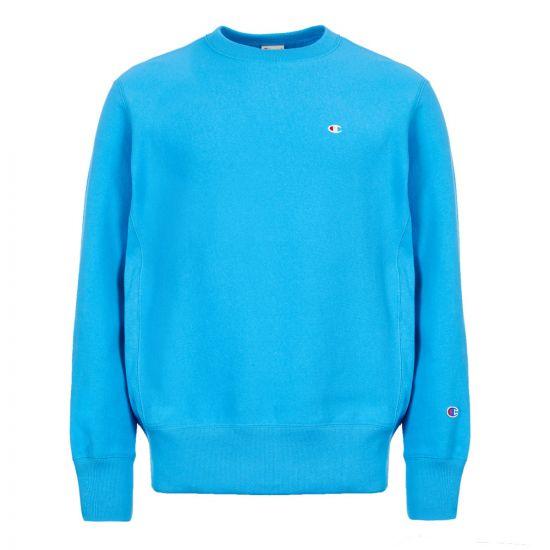 champion sweatshirt 212572 BZ022 MUB blue