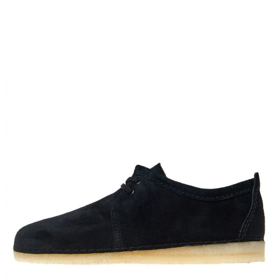 Clarks Originals Ashton Shoes 26141905 Black Suede
