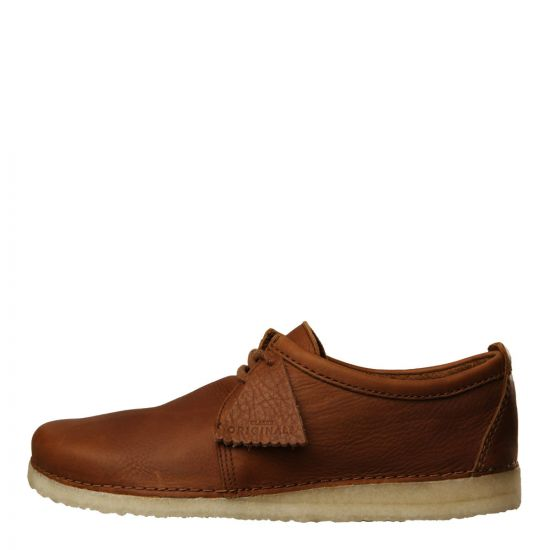 Clarks Originals Ashton Shoes 26131151 Cola Leather