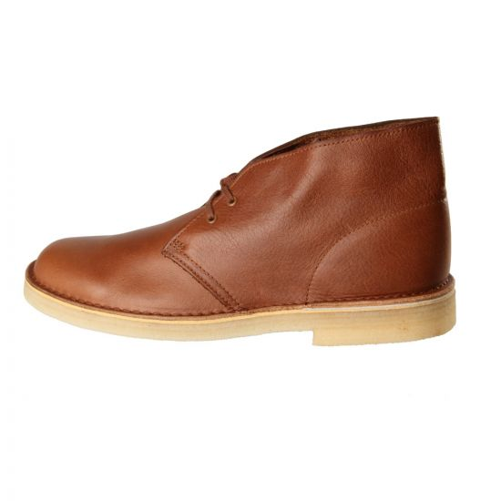 Clarks Desert Boots Tan Tumbled Leather 261050267