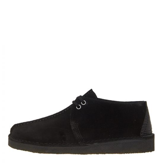 Clarks Originals Desert Trek Shoes 26138667 Black