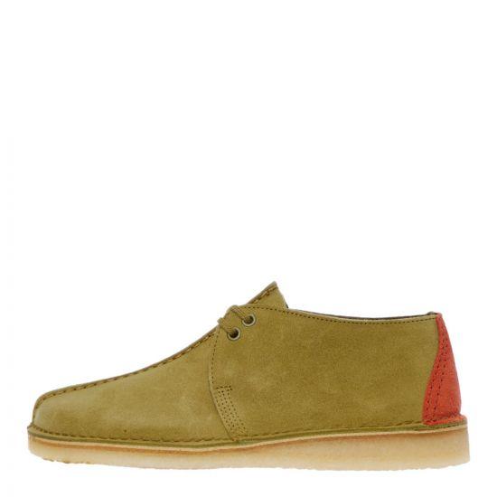 Clarks Originals Desert Trek Shoes   26144179 Khaki