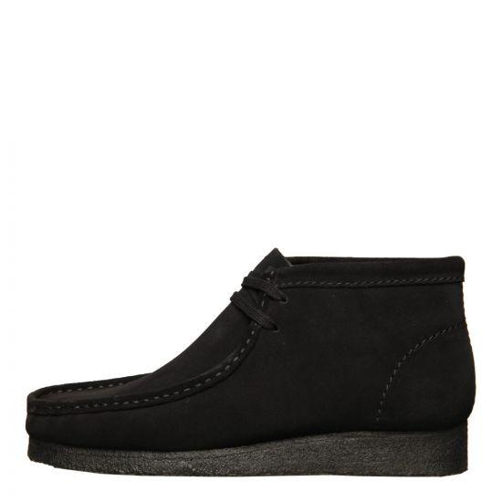 Clarks Originals Wallabee Boots 26133281 Black