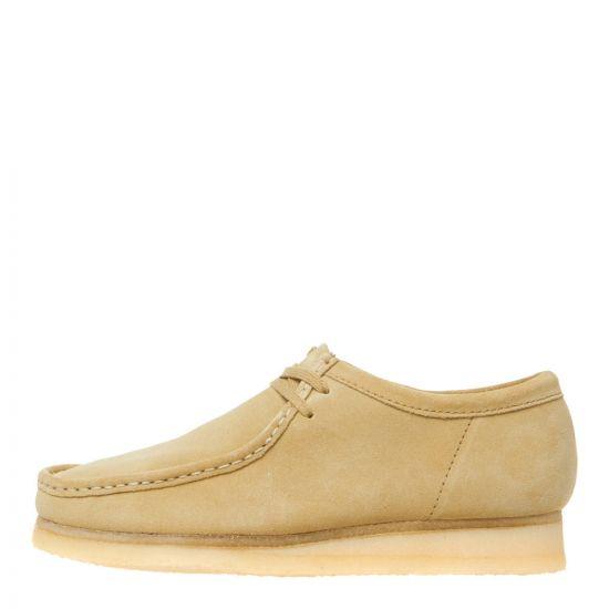 Clarks Originals Wallabee Shoes 26133278 Maple Suede