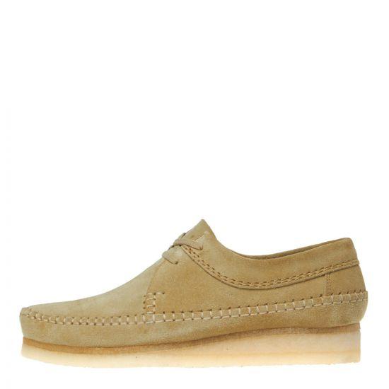 Clarks Originals Weaver Shoes 26133285 Maple Suede