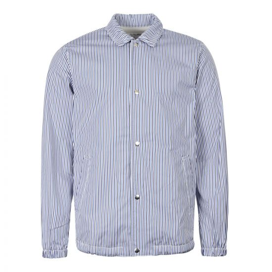 Comme des Garcons SHIRT Jacket Striped W27178 1 Blue / Navy / White