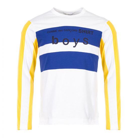 Comme des Garcons SHIRT BOYS T-Shirt | S27931|1 White