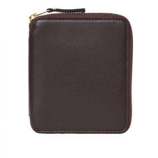 Comme des Garcons Wallet Classic   SA2100 801 Brown