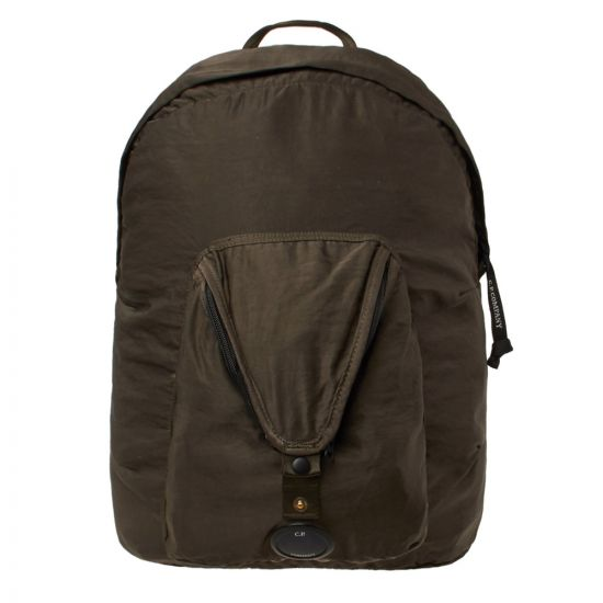 CP Company Backpack Lens CMAC068A 005269G 922 Olive