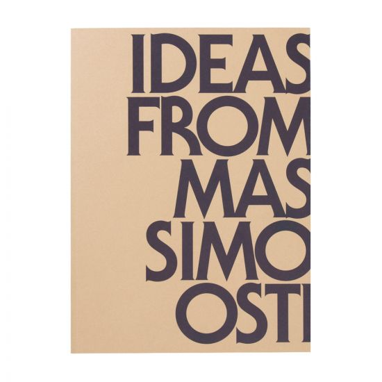 Ideas From Massimo Osti Book Second Edition | Isbn 978-88-7570-629-6