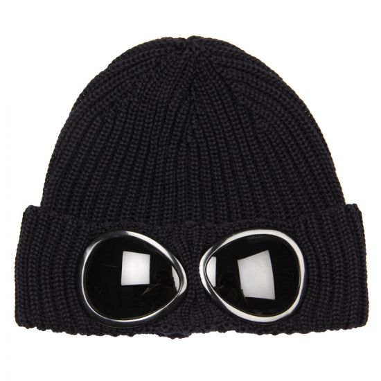 CP Company Goggle Beanie in Navy