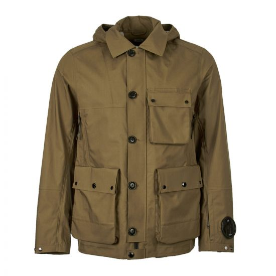 CP Company Goggle Jacket La Mille CMOW121A 005001A 672 Beech