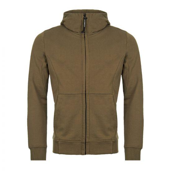 cp company goggle hoodie CMSS009A 005 160W 672 beech