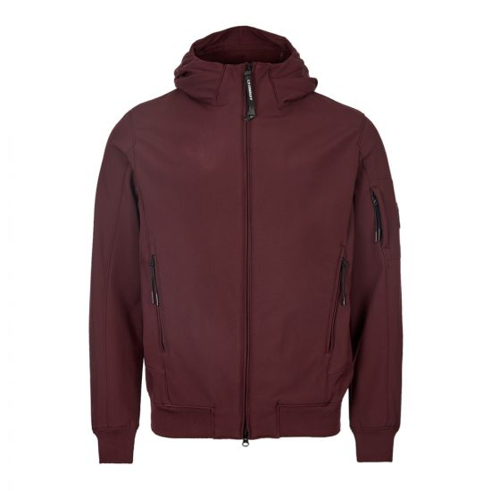 CP Company Jacket Soft Shell MOW013A 0052423A 593 Wine