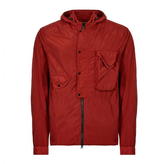 CP Company Overshirt | MOS144A 00 5148G 576 Scooter / Red