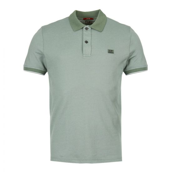 CP Company Polo Shirt CMPL039A|000973G|626 In Green