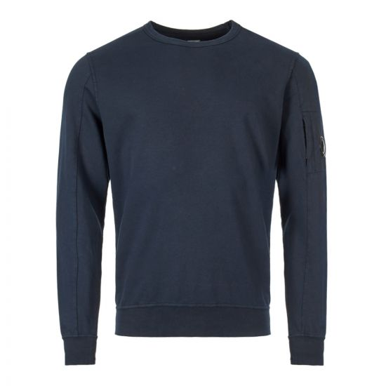 CP Company Sweatshirt | MSS087A 00246G 888 Total Eclipse
