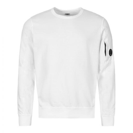 CP Company Sweatshirt Arm Lens CMSS047A 002246G 103 Cream