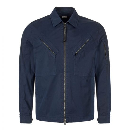 CP Company Overshirt   MOS149A 005425G 888 Total Eclipse