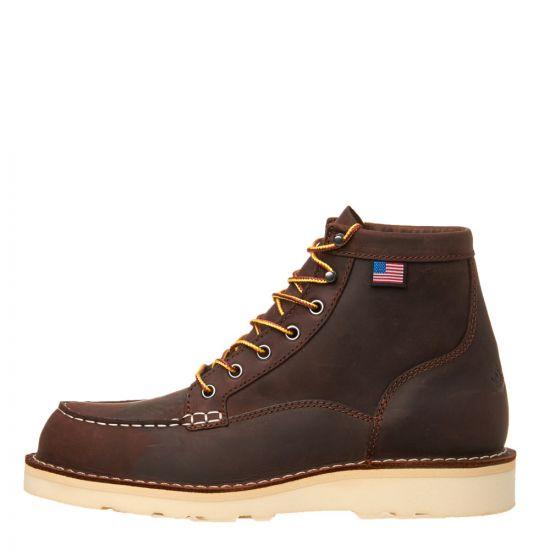 Danner Boots Bull Run Moc Toe 15563 in Brown