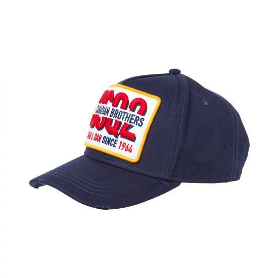 DSquared Cap BCM019608C00001 3073 Navy