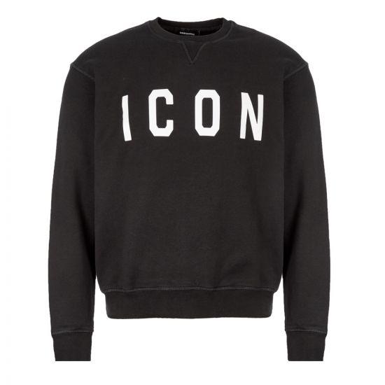 DSquared Sweatshirt Icon S74GU0352 S25042 968 Black