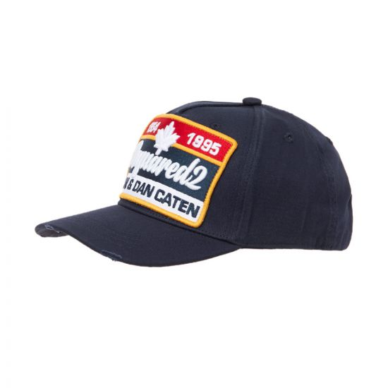 DSquared Cap BCM017405 C00001 Navy