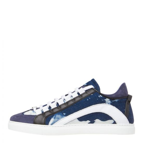 DSquared Sneakers SNM00065 3301553 3085 Bleached Denim