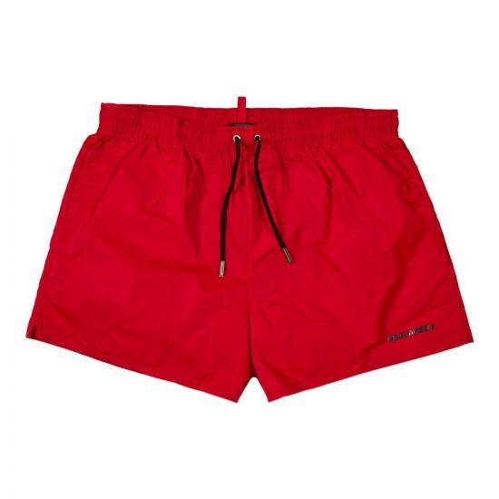 DSquared Swim Shorts   D7B642380 402 Red
