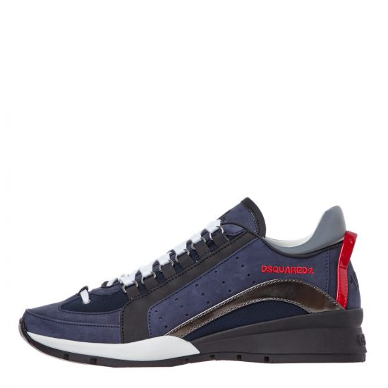 DSquared2 Trainers | SNM0404 09702072 M1683 Navy / Black