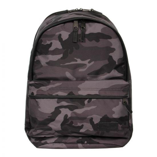 Eastpak Back to Work Backpack EK936-65R Constructed Camo Black