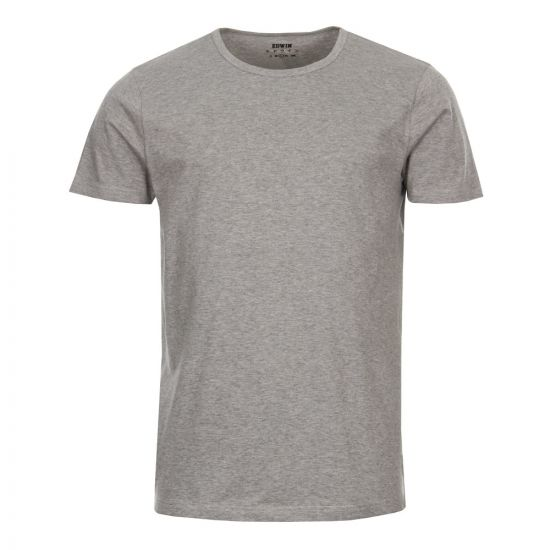 Edwin T-Shirts Double Pack - Grey Marl