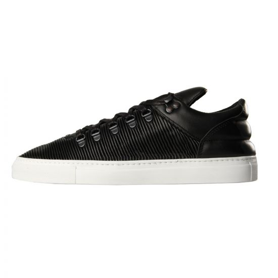 Mountain Cut Trainers - Black Leather