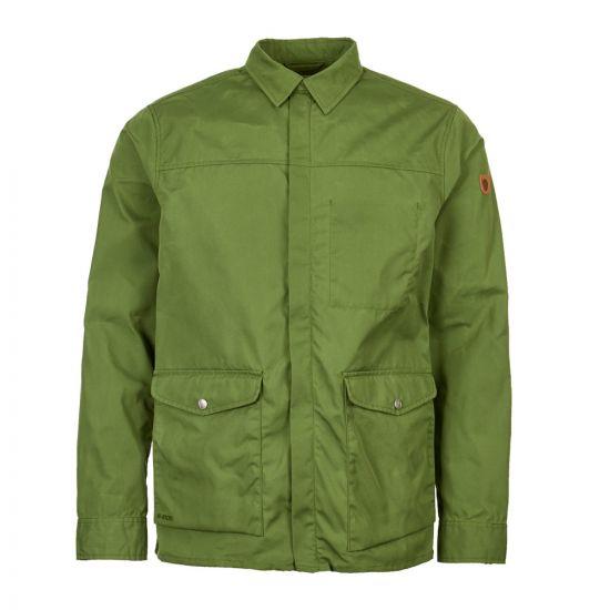 fjallraven greenland jacket shirt F81873 618 green