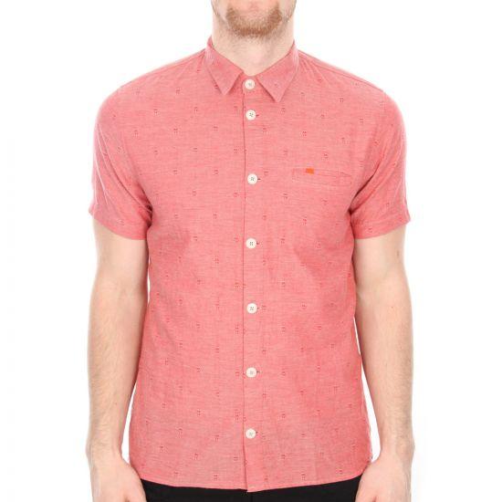 folk red shirt