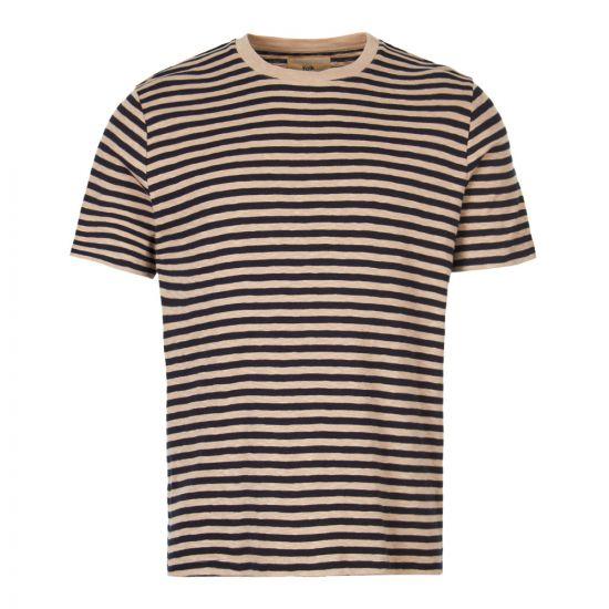 Folk T-Shirt   FP5221J NAVY Navy / Oatmeal