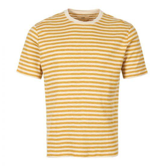 Folk T-Shirt   FP5221J STRAW Yellow / Ecru
