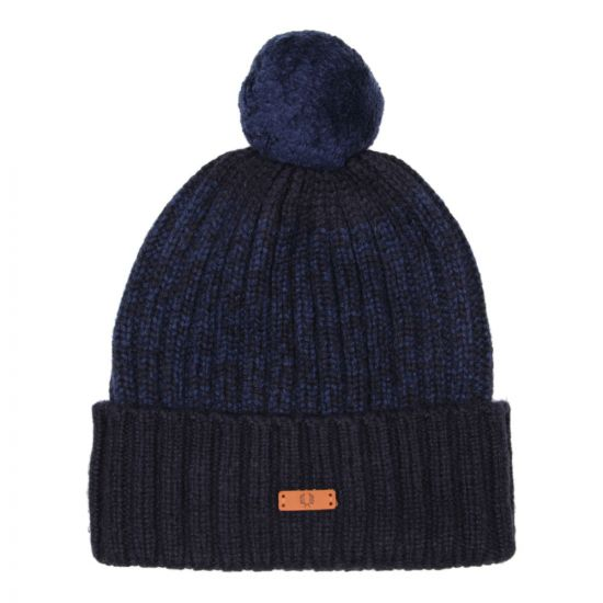 Fred Perry Twisted Yarn Beanie - Medieval Blue
