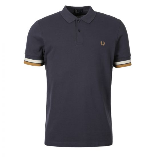 Fred Perry Polo Shirt Blue M4566