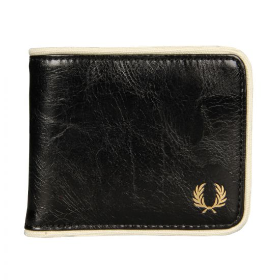 Fred Perry Classic Billfold Wallet | Black L3335-D57
