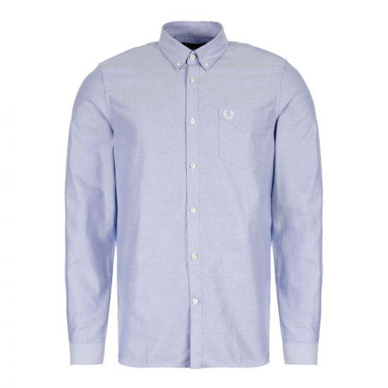 Fred Perry Oxford Shirt Light Smoke M6379