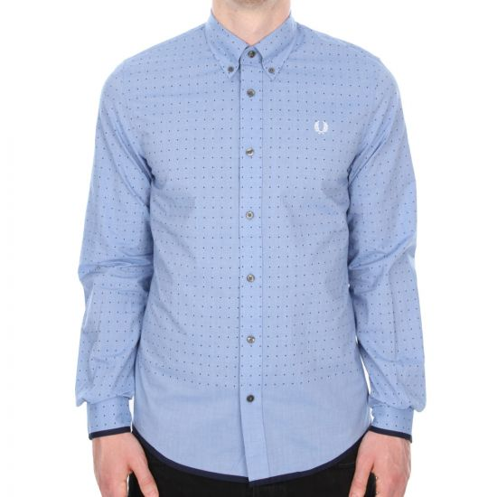 Fred Perry Shirt - Blue