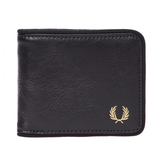 Fred Perry Wallet Tonal Billfold L7233 102 Black