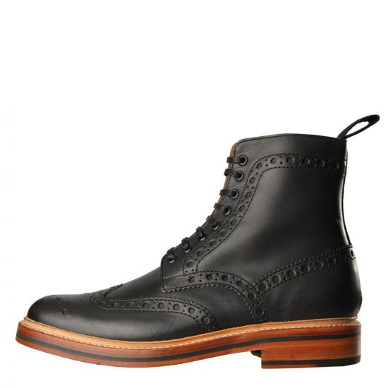 Grenson Fred Boots in Black 5068/01G
