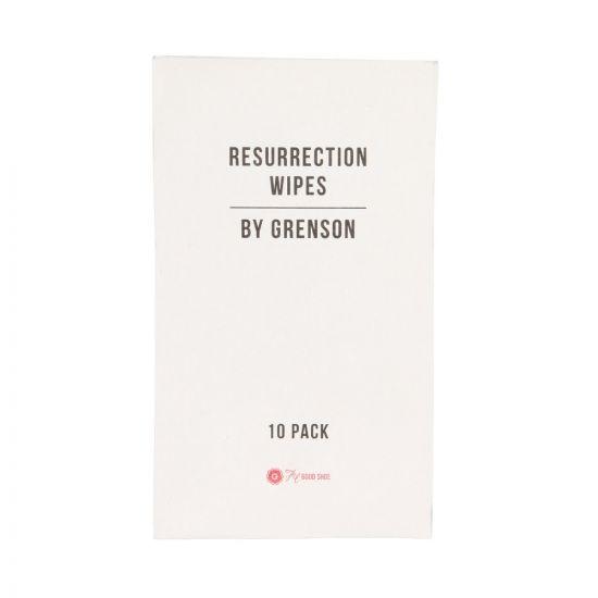 Grenson Resurrection Wipes 310051 10 Pack