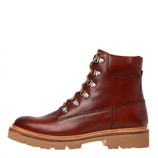 grenson rutherford calk boots 112082 tan