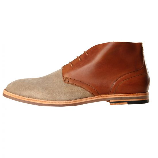 H by Hudson Houghton Boots Tan Suede