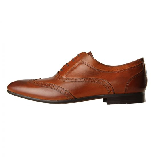 Hudson Shoes Francis Brown Leather