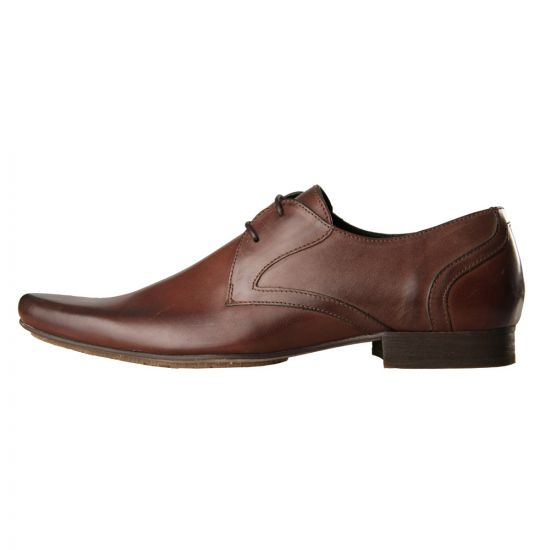 Hudson Shoes Livingston Brown Leather